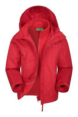 Mountain Warehouse Kids 3 In 1 Water Resistant with Detachable Inner Fleece