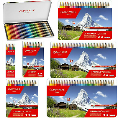 Caran d'Ache Prismalo Aquarelle Colour Pencils | Water Soluble | All Sets