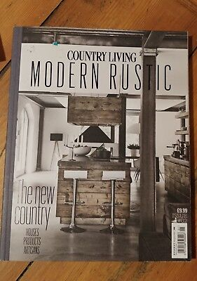 Country Living Modern Rustic Magazine Issue Number #2 ~Used Very Good Condition