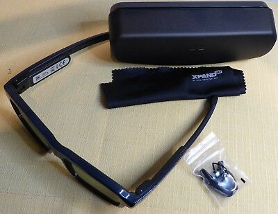 XPAND X104LX1 3D Brille 3d Eyewear, Large Blue For Television und Projector