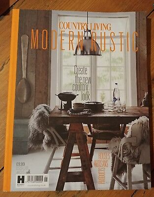 Country living modern rustic magazine issue #5