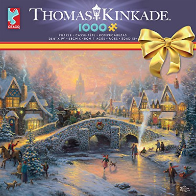 Thomas Kinkade 1000 Pc Puzzle - 2018 Christmas Party By Ceaco - New & Sealed