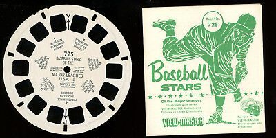 View Master-# 725-Baseball Stars of the Major Leagues-# 1