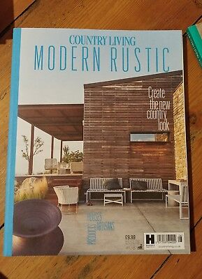 Country living modern rustic magazine issue 08 ~ very good condition