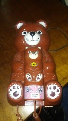 Teddy Bear Home Phone. Teddy Fone from the 80's in great condition