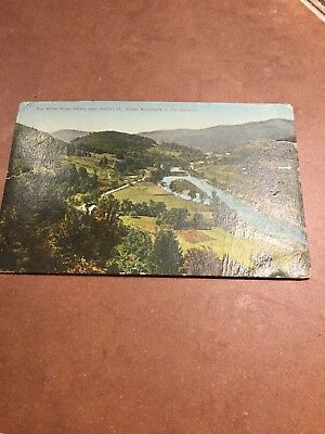 Post Card 1913 To B. Robinson  White River Valley Post Card