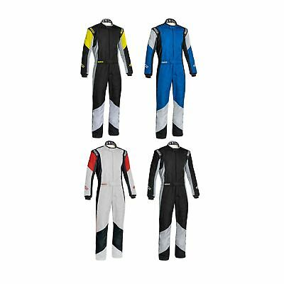 Sparco Grip RS-4 FIA Approved Race Suit - Black/Grey - Size 54