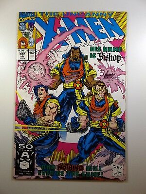 """The Uncanny X-Men #282 1st Appearance """"Cameo"""" of Bishop! VF+ Condition!!"""