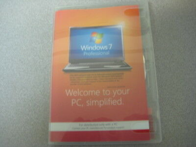 Microsoft Windows 7 Professional 64 Bit Software with Service Pack 1 (Disc Only)