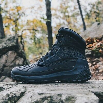 526449a59f48 🔥 130 Nike Kynwood Waterproof Winter Snow Boots 8.5 Black ACG leather zoom  air
