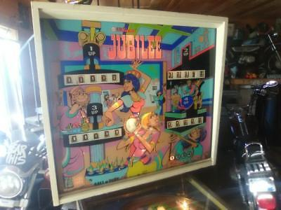 """jubilee"" Pinball Machine 1973 By Williams Watch Video."
