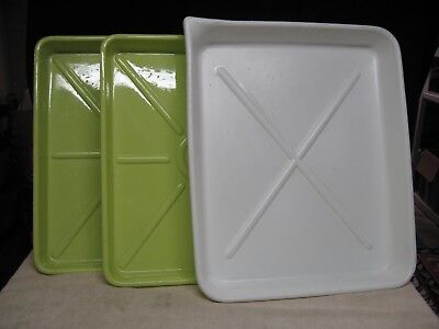 Set of Three Large 16x20 Photo Print Trays - All Excellent