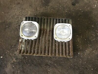 Ford 5610 7610 4610 3910 2910 Front Lights And Grill