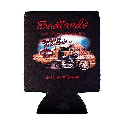Badlands Harley-Davidson® Badass of Badlands Can Coozie