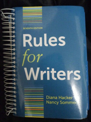 Rules for Writers with Writing about Literature (Tabbed Version) by Diana Hacke…