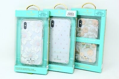 on sale 809a5 c731a KATE SPADE NEW York Defensive Hardshell Case for iPhone X & New iPhone 5.8