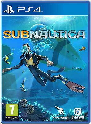 Subnautica (PS4 PLAYSTATION 4 VIDEO GAME) *NEW/SEALED* 5060146466196, FREE P&P