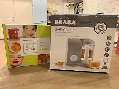 BEABA Babycook Steam Cook and Blend All In One            Extra Book