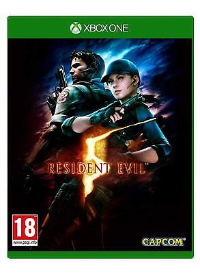 Resident Evil 5 HD Remake (XBOX ONE VIDEO GAME) *NEW/SEALED* FREE P&P