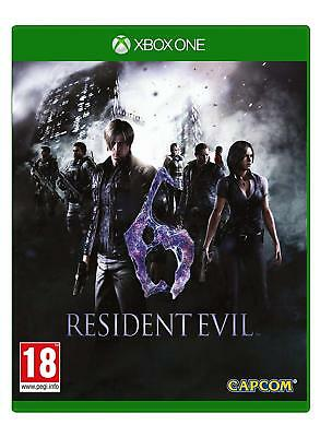 Resident Evil 6 HD Remake (XBOX ONE VIDEO GAME) *NEW/SEALED* FREE P&P