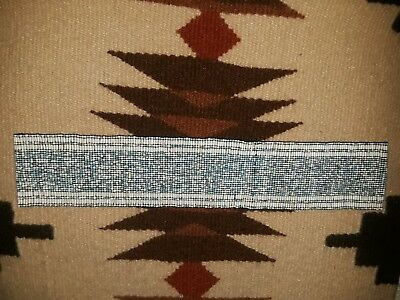 """Superb Old Native American"""" Navajo Tribe Hand Strung Wide Beaded Waist Band!!"""