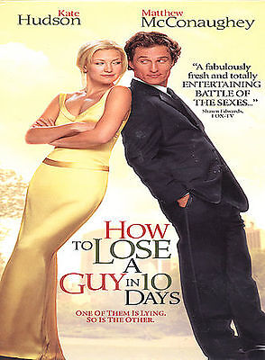 NEW--How to Lose a Guy in 10 Days (DVD, 2003, Full Screen Edition)
