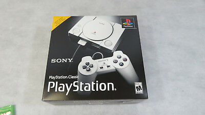 Sony PlayStation Classic Video Game Console New 20 Games Preloaded