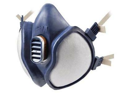 1x 3M 4251/ 06941 Spray Paint/Dust Mask Vapour & Particulate Reusable Respirator