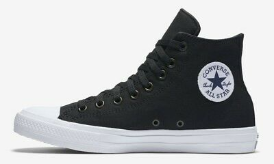 ccaadaa4f27290 Converse Chuck Taylor All Star II Hi Men Szs Black White High Tops Chuck 2  CTAS