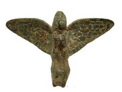 Roman Period Bronze Figurine, The Roman Eagle+++As Found Condition+++