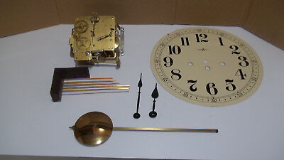 Hermle Westminster Chime Wall Clock Movement And Extra Parts For Wall Clock