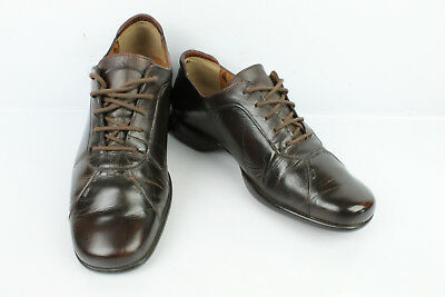 Derby shoes MEPHISTO Brown Leather EN 40 / UK 6.5 VERY GOOD CONDITION