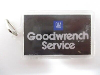 Vintage GM Goodwrench Service Keychain