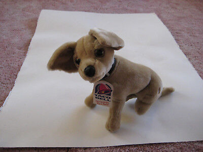 Vintage (1999) Taco Bell Talking Stuffed Chihuahua, still talks