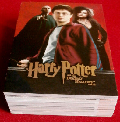 HARRY POTTER - DEATHLY HALLOWS - PART 2 - COMPLETE BASE SET of 54 cards ARTBOX