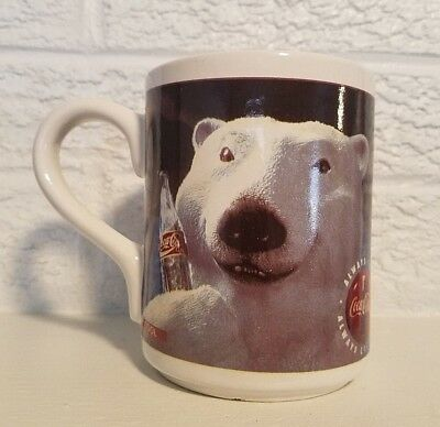 Coca - Cola - 1996 - Gibson - Smiling Polar Bear - Coffee Cup/Mug
