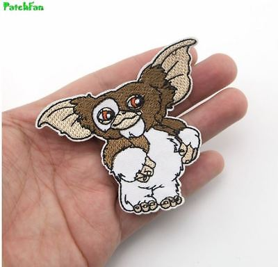 Gremlins Cartoon GIZMO Character Embroidered Iron On Applique Patch Comics Movie