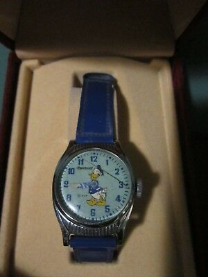 Donald Duck Ingersoll US Time Wrist Watch L10943