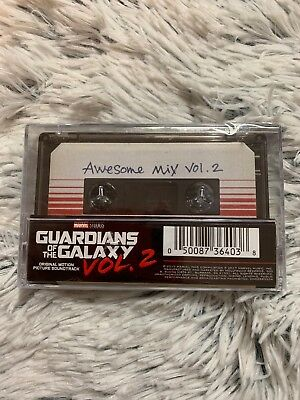 Guardians Of The Galaxy: Awesome Mix Vol. 2 (MOVIE SOUNDTRACK) New Cassette Tape