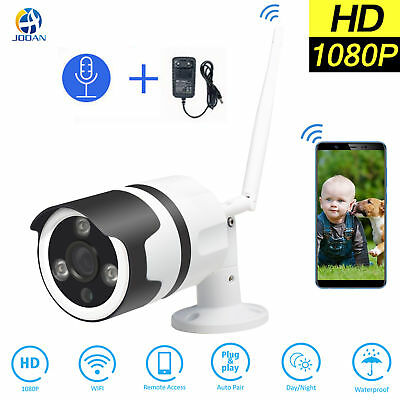 Jooan Wireless WIFI 1080P HD Security IP Camera P2P Outdoor IR Cut Night Vision