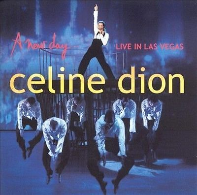 New Sealed A New Day..Live in Las Vegas by Celine Dion (CD, 2004, 2 Discs, Sony)
