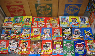 New Old Baseball Unopened Pack Lot Dad's Collection Estate Sale Vintage
