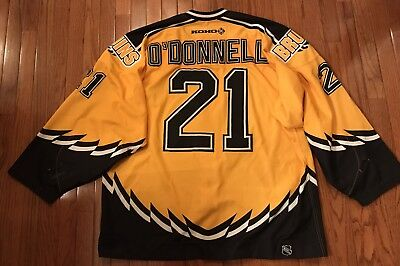newest 9f1ce 3f6fb BOSTON BRUINS GAME Worn Jersey 2002-03, Sean O'Donnell