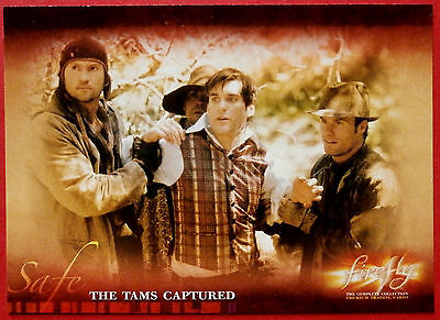 Joss Whedon's FIREFLY - Card #26 - The Tams Captured - Inkworks 2006