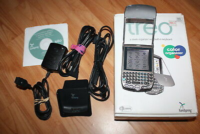 Palm Treo Handspring 90 Full Color PDA with docking and USB cable