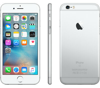 Apple iPhone 6 Plus 16GB 64GB 128GB SILVER Unlocked Warranty Sealed AT&T Verizon