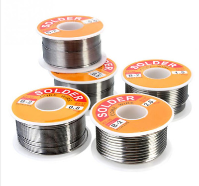 Tin Lead Rosin Core Solder Wire for Electrical Solderding 63-37  .0.3-2mm 50g
