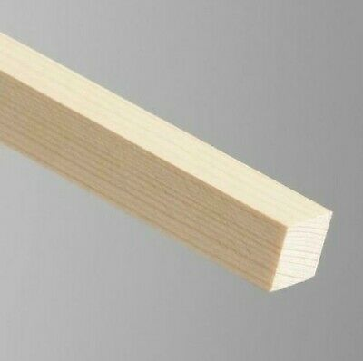 "10LENGTHS Planed Timber 20mmx 20mm Length 1.2m,4feet PINE PSE MOULDING 3/4""X3/4"""