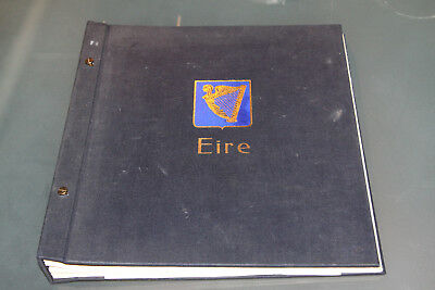 Ireland - 1922-86 Davo Album With All Leaves & Mint And Used Collection Within