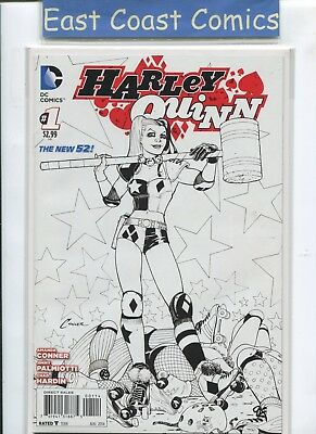 HARLEY QUINN #1 4th PRINT SKETCH VARIANT - DC NEW 52